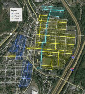 2020 UGI Get Gas Work Schedule - Yellow Areas